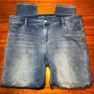Old Navy rockstar 24/7 skinny jeans